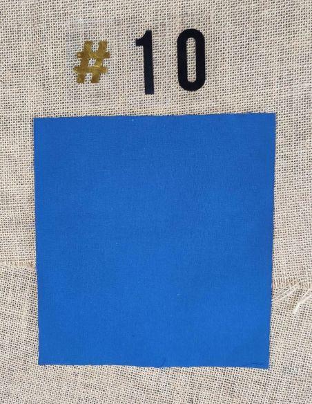 Tissu coloris uni bleu roi  pour Pochette personnalisable par l'échoppe de Nine
