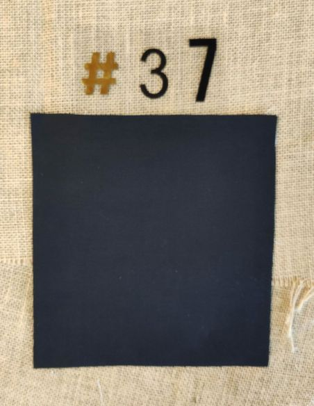 Tissu coloris uni noir pour Pochette personnalisable par l'échoppe de Nine