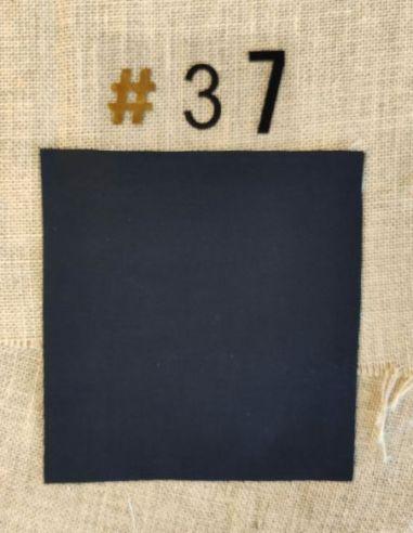 Tissu coloris ALL BLACK pour Pochette personnalisable par l'échoppe de Nine