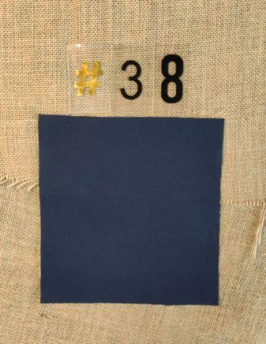 Tissu coloris uni bleu foncé pour Pochette personnalisable par l'échoppe de Nine