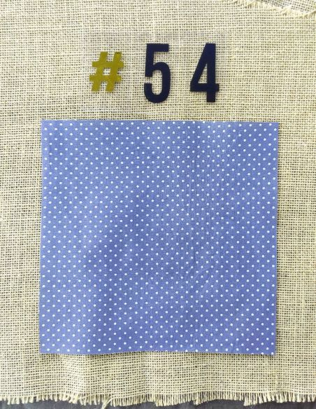 Tissu rétro gris pois blancs pour Pochette personnalisable par l'échoppe de Nine