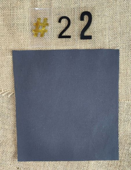 Tissu coloris uni gris anthracyte pour Lingettes personnalisablespar l'échoppe de Nine
