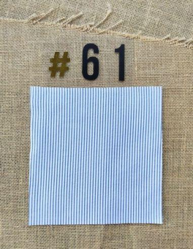 Tissu Rayé bleu et blanc pour Lingettes personnalisablespar l'échoppe de Nine
