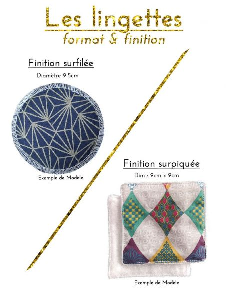 Tissu motifs graphiques or